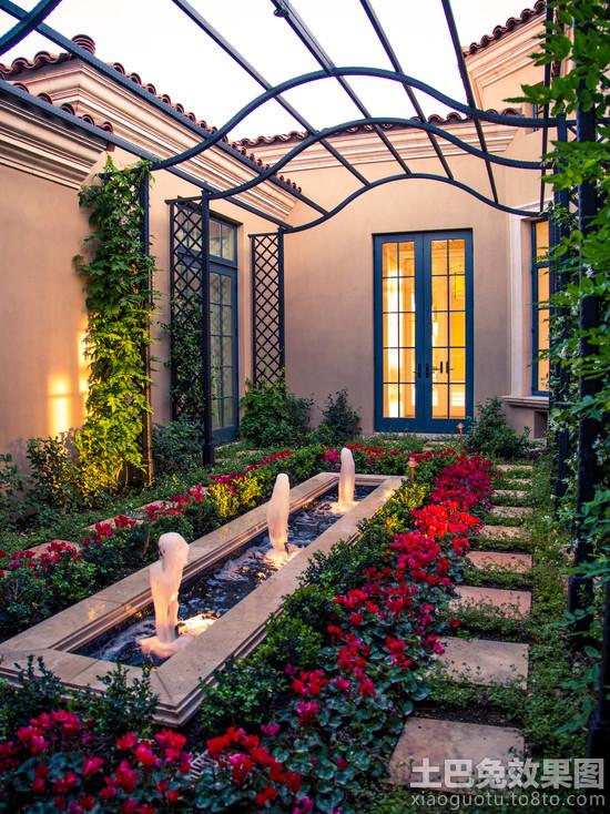欧式风格私家庭院景观设计装修效果图 第1张 家居图库 九正家居网