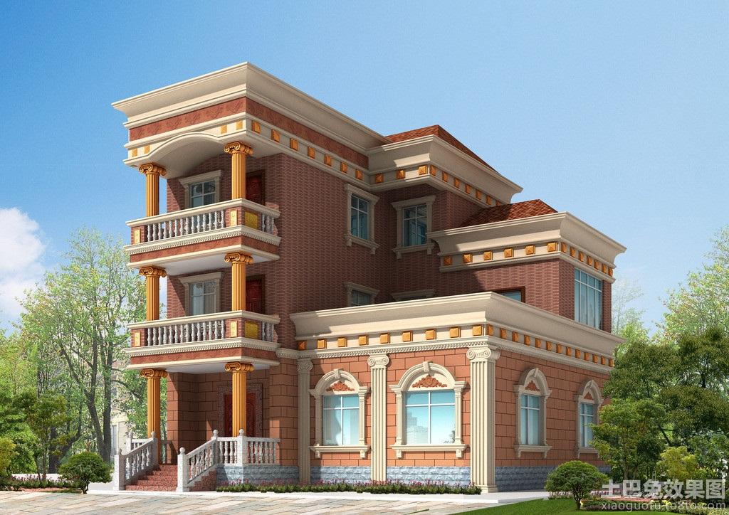欧式农村自建房设计图片 (10/11)图片