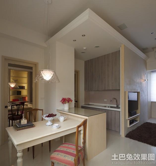 家庭装修餐厅餐边柜隔断设计图片装修效果图 第6张 家居图库 九正家高清图片