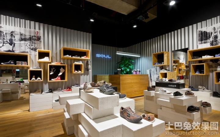 简单小型鞋店装修图 9 15高清图片