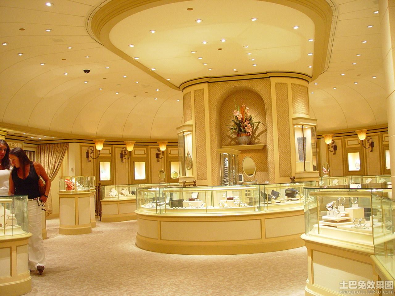 珠宝店内装修效果图装修效果图急需珍珠店装修效果图 或者高清图片