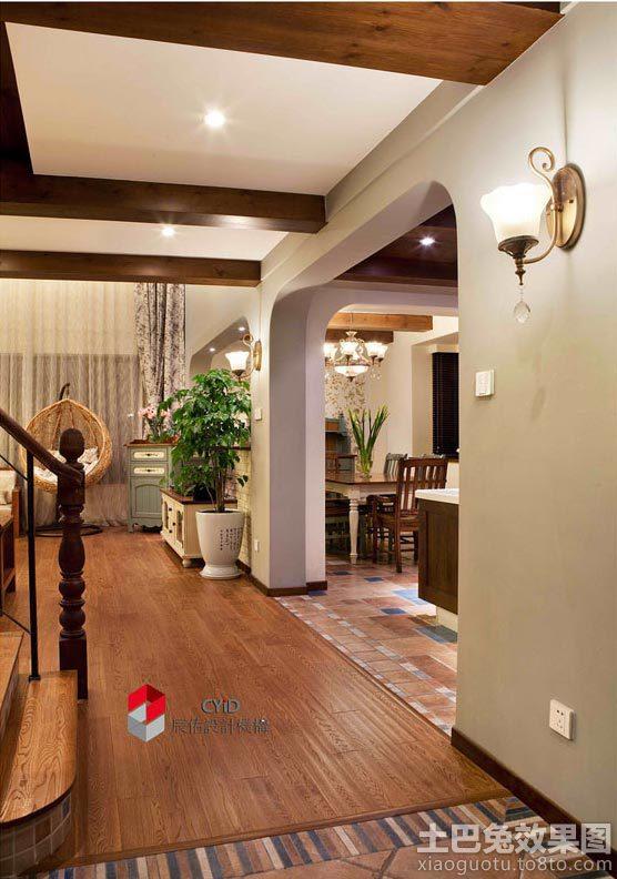 别墅木地板装修效果图木地板简洁装修图片14