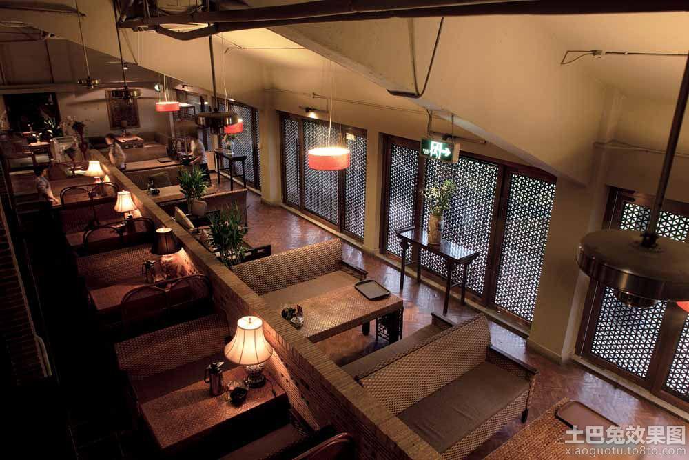 现代中式茶楼装修效果图 1 11高清图片