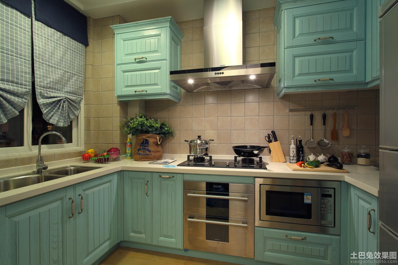 居家厨房实木橱柜效果图装修效果图_第6张 - 家居图库图片