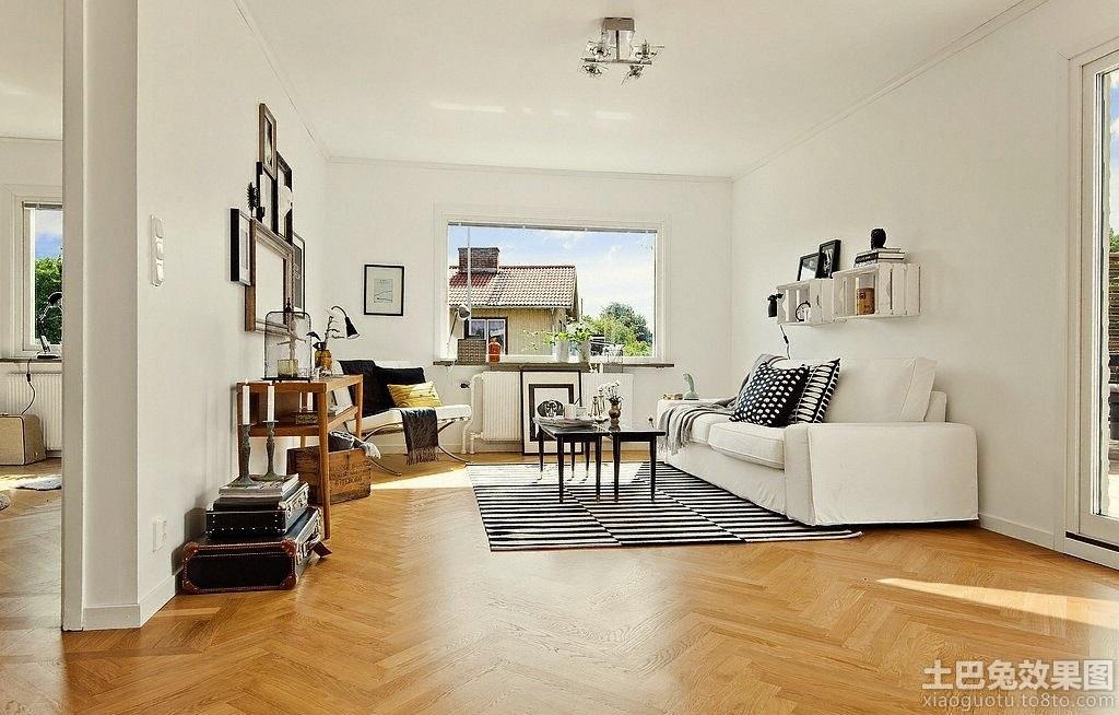 瑞典北欧风格房子客厅装修效果图 (3/10)图片