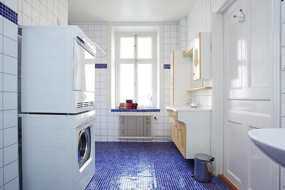 北欧风格卫生间白瓷砖贴图 (3/6)图片