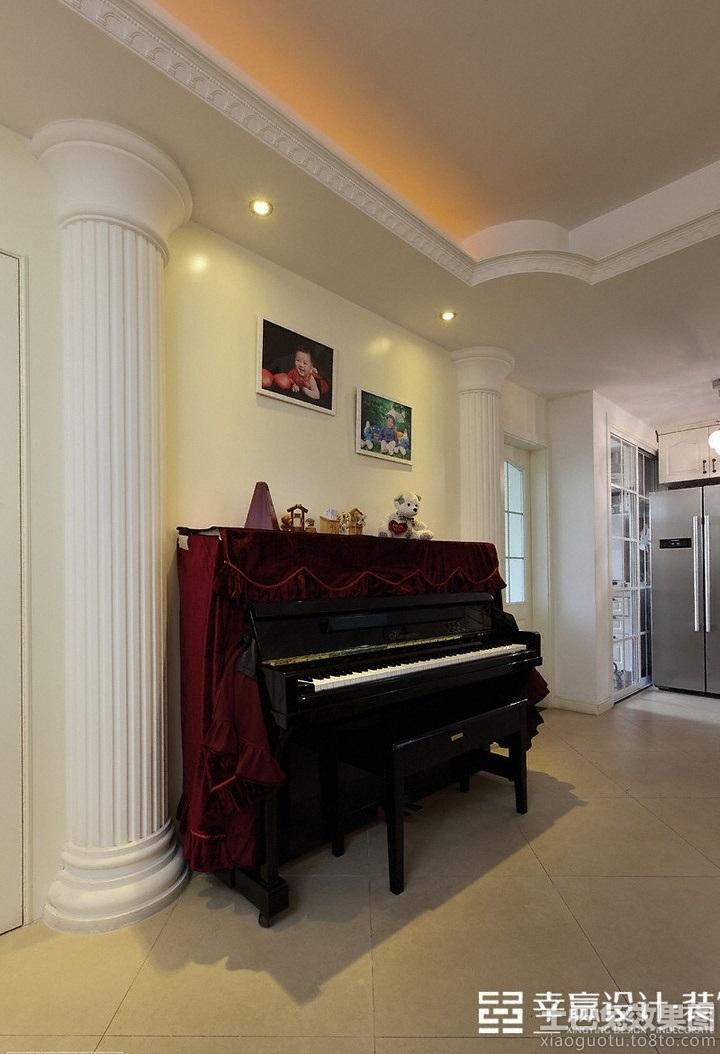 家居图库 现代欧式80平米小户型装修效果图 > 第2张  共 4 张图片图片