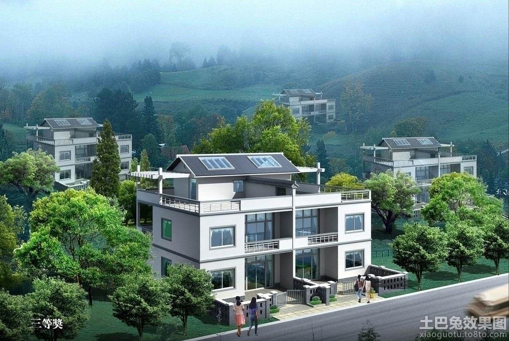 农村自建房屋设计图装修效果图
