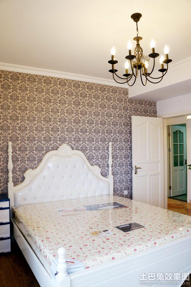 家装卧室墙纸图片大全装修效果图