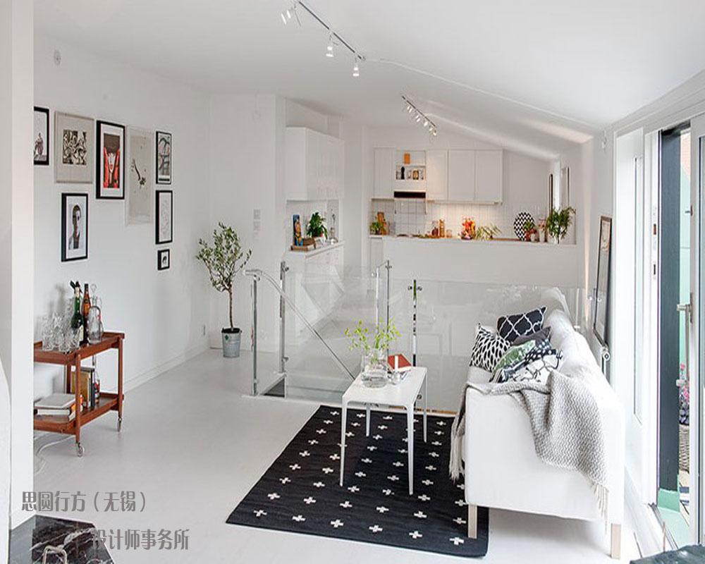 北欧风格小户型阁楼客厅装修效果图装修效果图图片