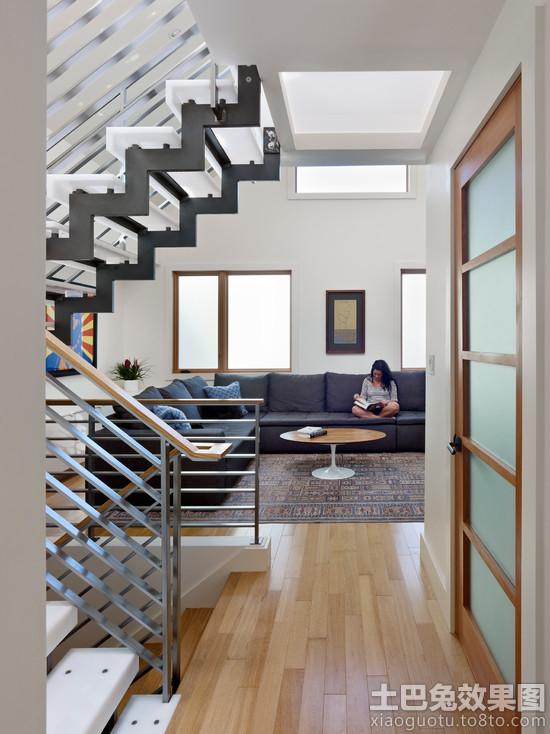 现代别墅钢结构楼梯图集欣赏装修效果图