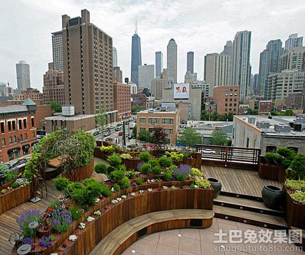 楼顶花园设计效果图装修效果图 第9张 家居图库 九正家居网