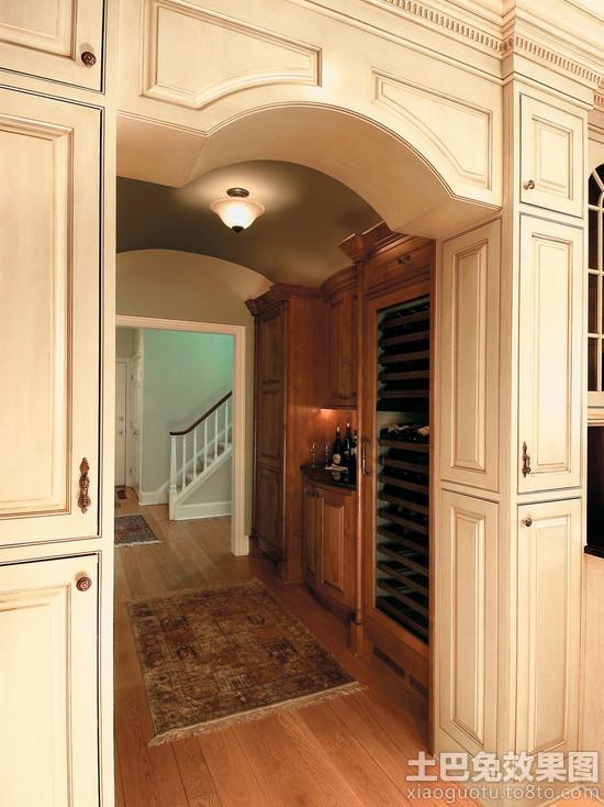 欧式家装 垭口造型效果图 装修效果图 第12张高清图片