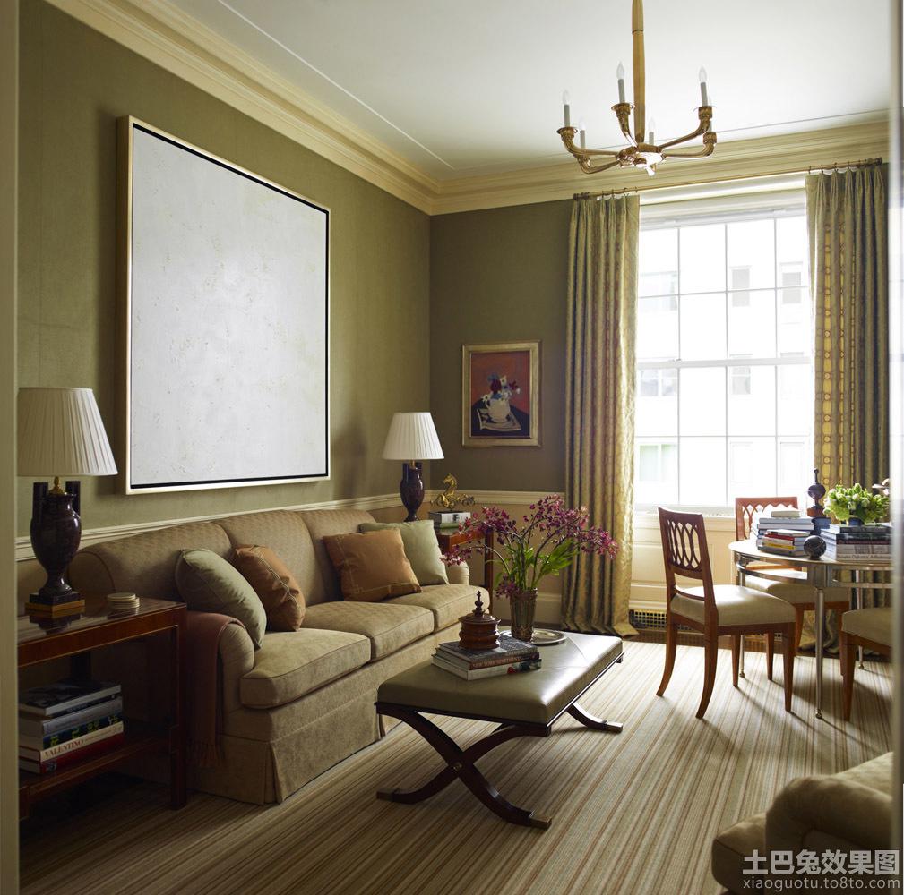 法式风格客厅装修效果图装修效果图