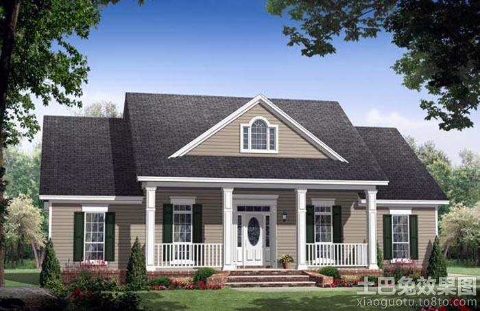 现代南方农村房屋设计图装修效果图