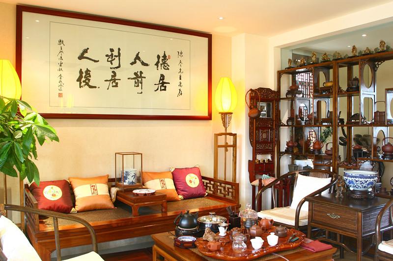 新中式风格茶室装修效果图 7 10高清图片
