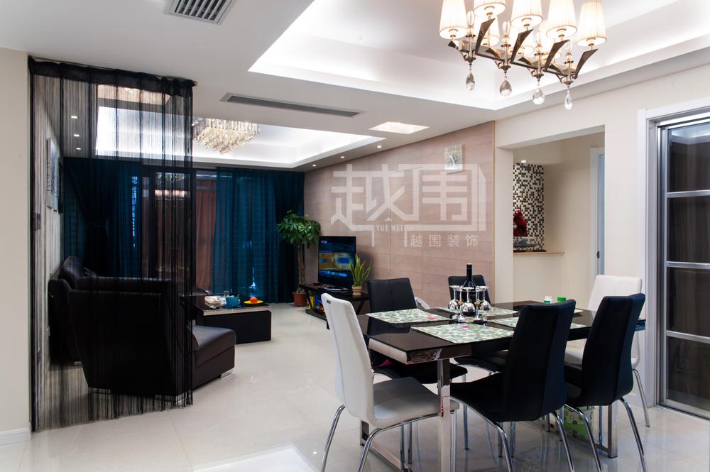 格客厅餐厅纱帘隔断装修效果图 2 19高清图片