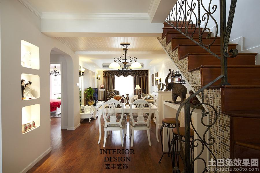家居图库 欧式风格复式楼餐厅装修效果图欣赏 > 第4张  共 7 张图片图片