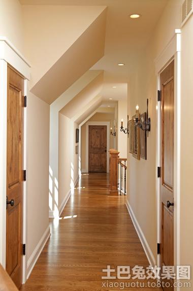 2013别墅室内过道木地板贴图装修效果图_第3张 - 家居