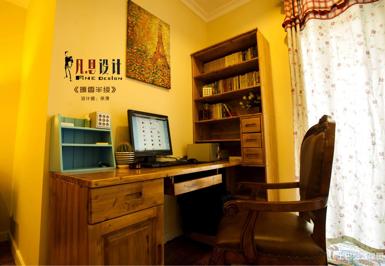 家居图库 暖色调欧式风格80平米两室一厅装修效.