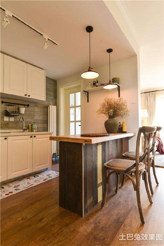 半开放式厨房吧台效果图欣赏装修效果图_第1张 - 家居