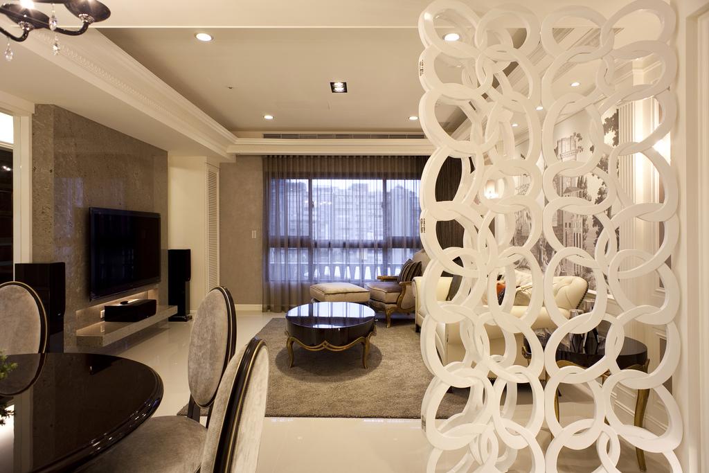 家居图库 简约欧式风格小户型客厅装修效果图 > 第8张  共 9 张图片图片