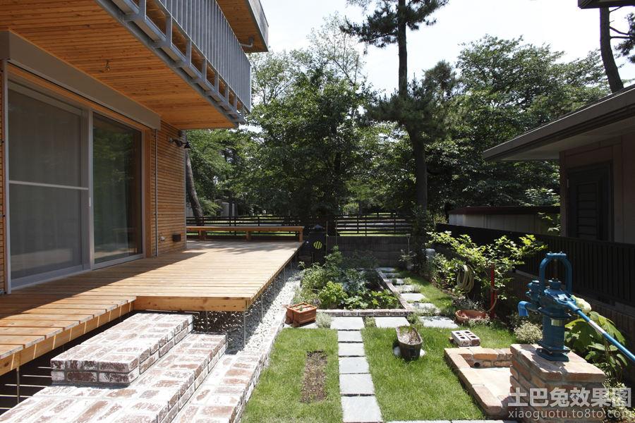 小别墅花园设计效果图装修效果图 第1张 家居图库 九正家居网