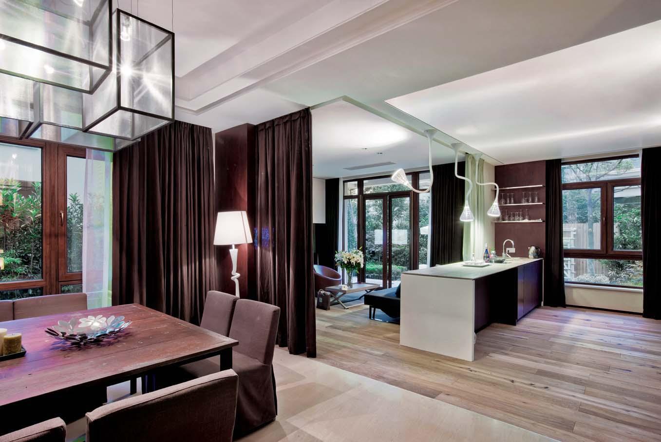 厅休闲区布帘 隔断效果图装修 效果图高清图片