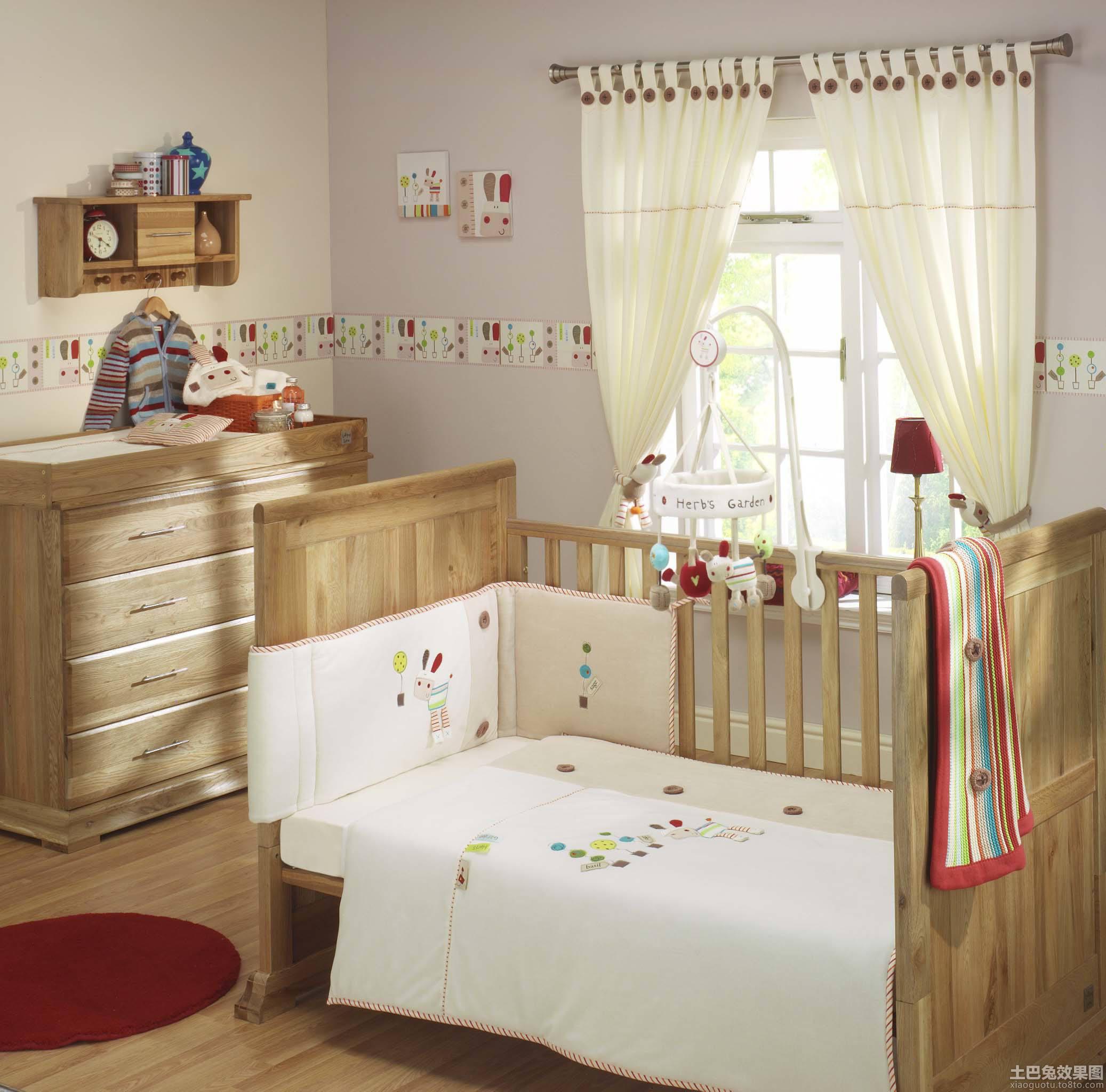 婴儿房装修布置图片