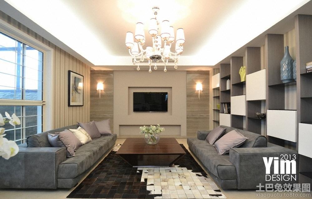 现代简装客厅电视背景墙 东门国际广场背景墙效果图 高清图片