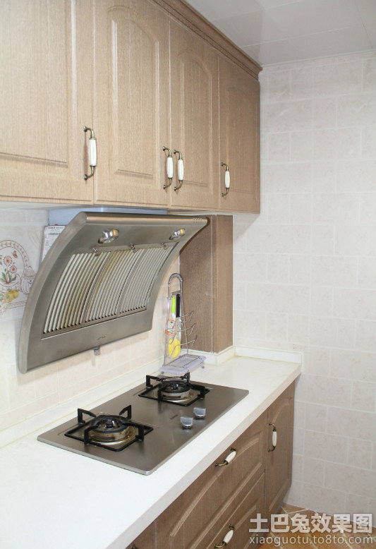 简 欧式厨房灶台装修 效果图 装修 效果图 第5张高清图片