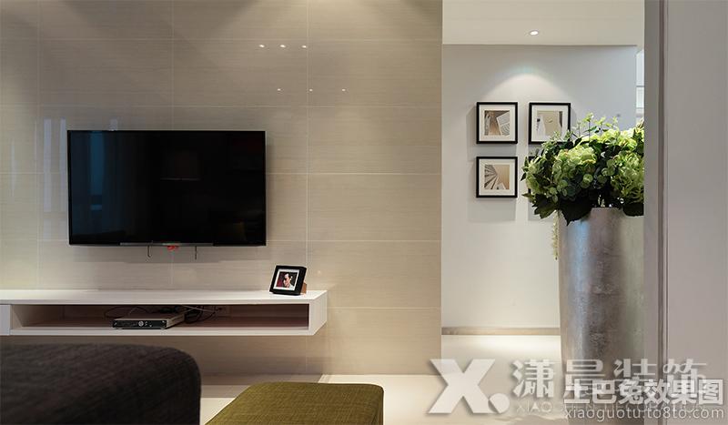 家装瓷砖电视背景墙装修效果图大全 (1/11)