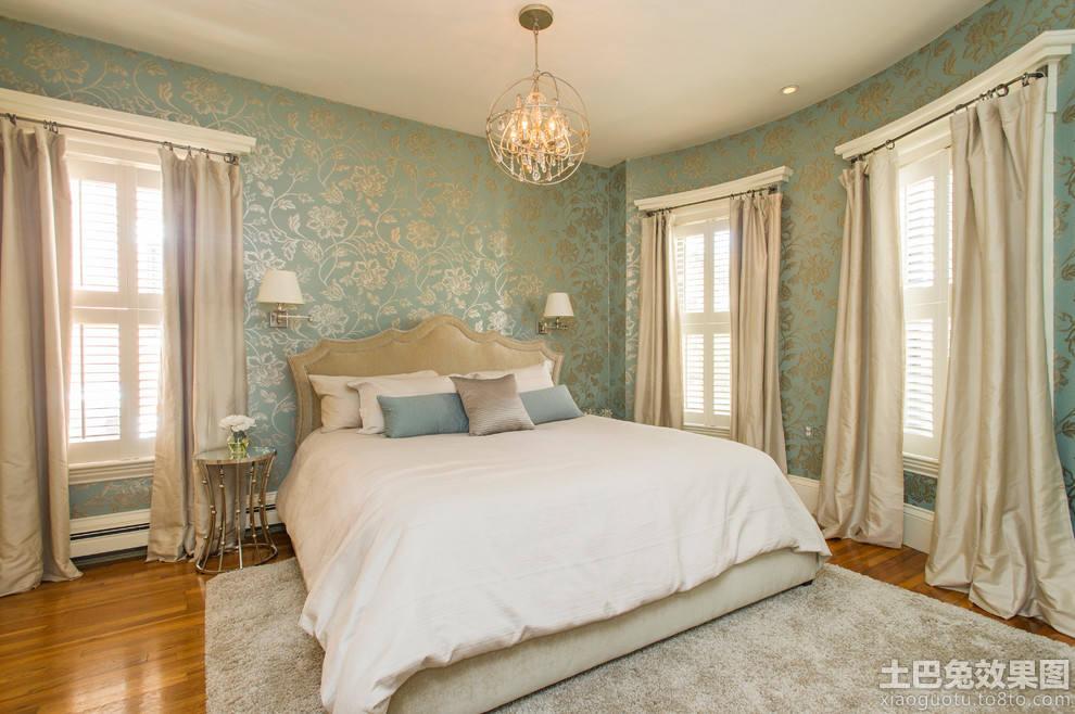 温馨卧室墙纸装修效果图欣赏装修效果图