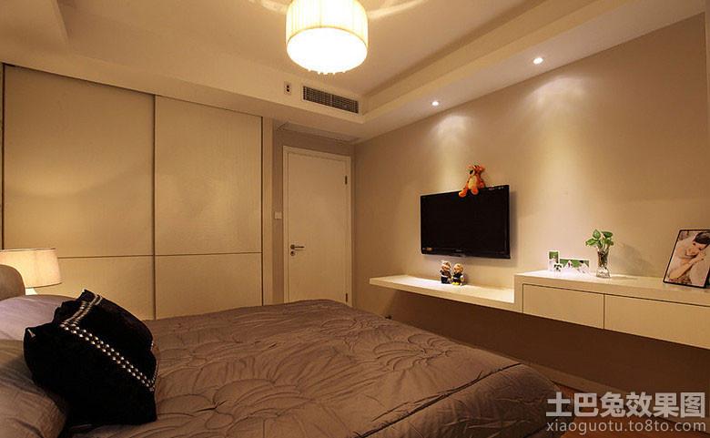 卧室电视墙效果图大全装修效果图