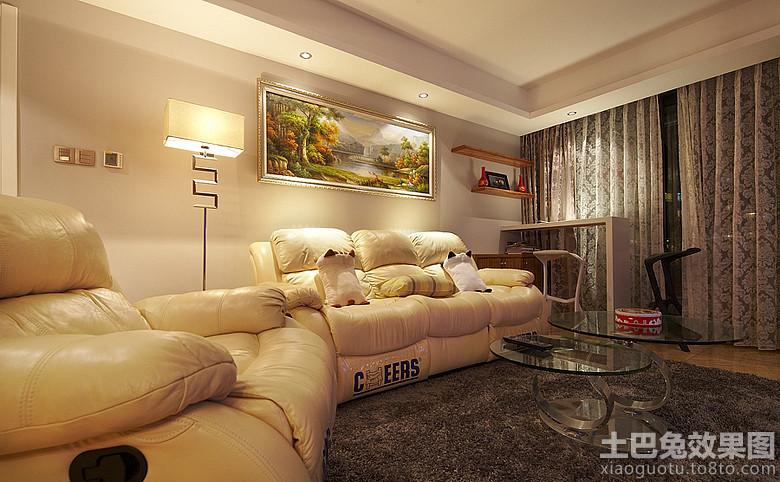 简欧式客厅沙发装饰画效果图 9 10