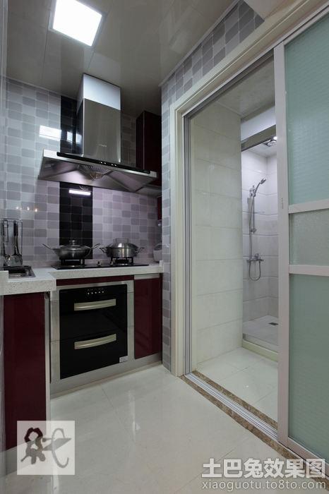 厨房卫生间推拉门效果图装修效果图