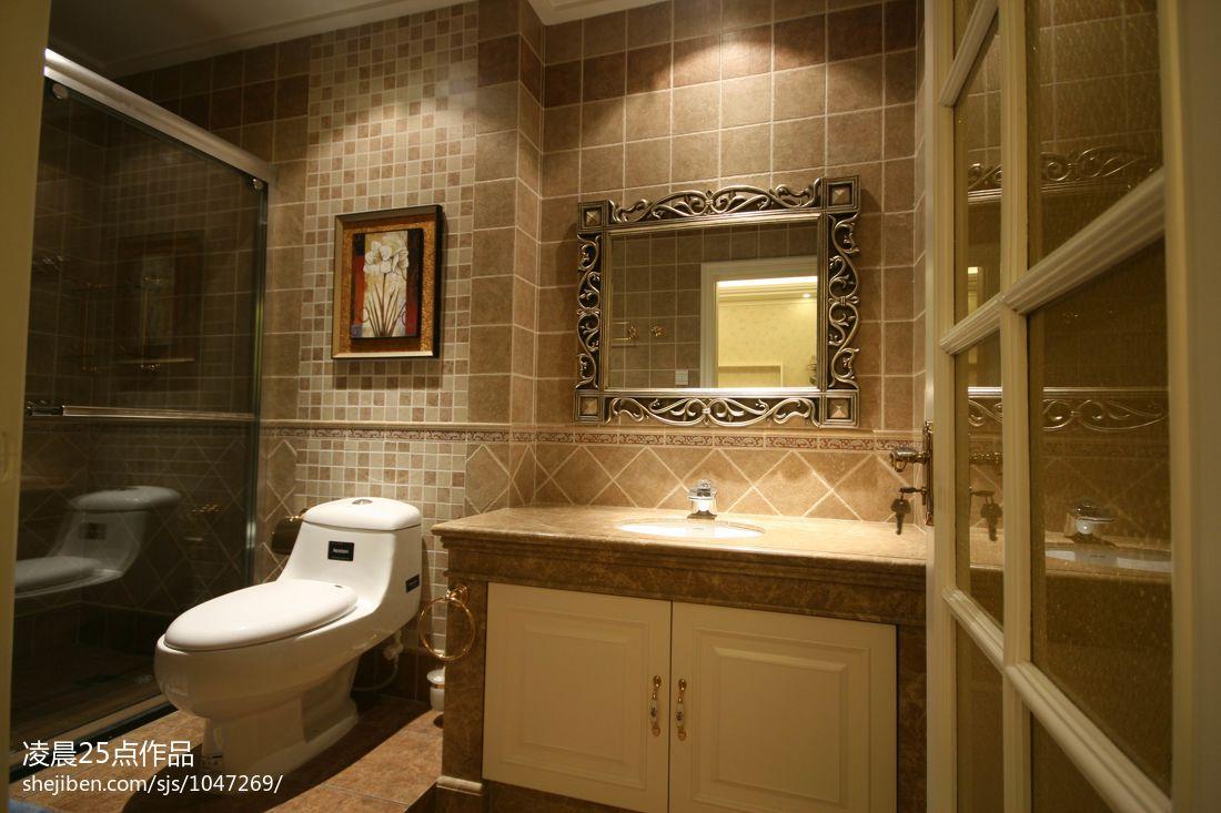 现代美式风格卫生间装修效果图装修效果图 第3张 家居图高清图片