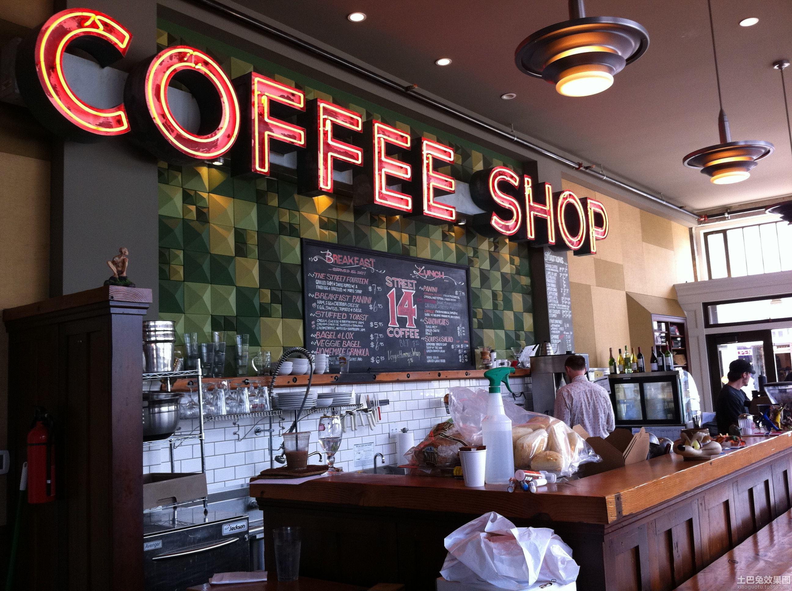 小型咖啡店装修效果图片装修效果图