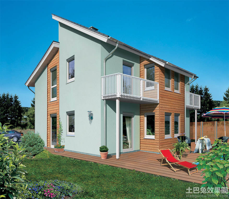 农村盖房子设计图-二层房屋平面设计图图片