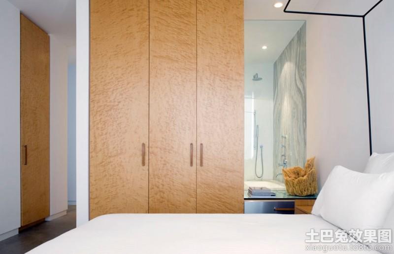 卧室壁柜门图片装修效果图