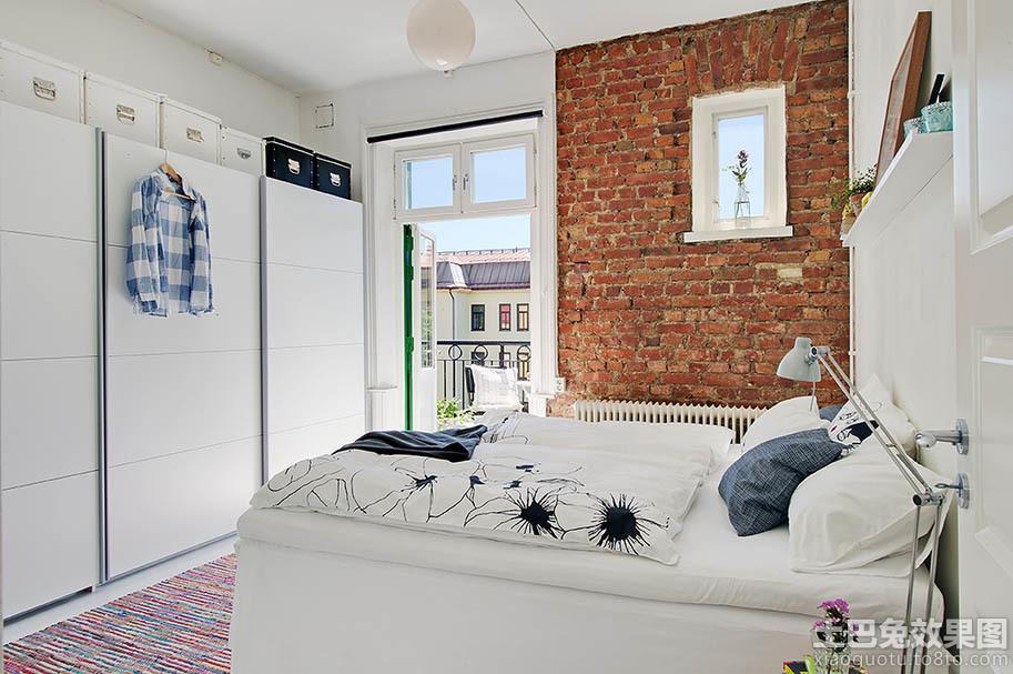 北欧风格卧室装修图装修效果图