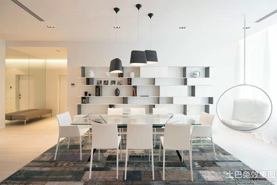 现代风格书柜效果图高清图片