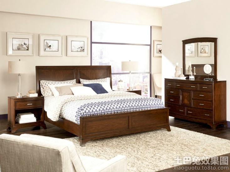 美式风格卧室家具图片装修效果图