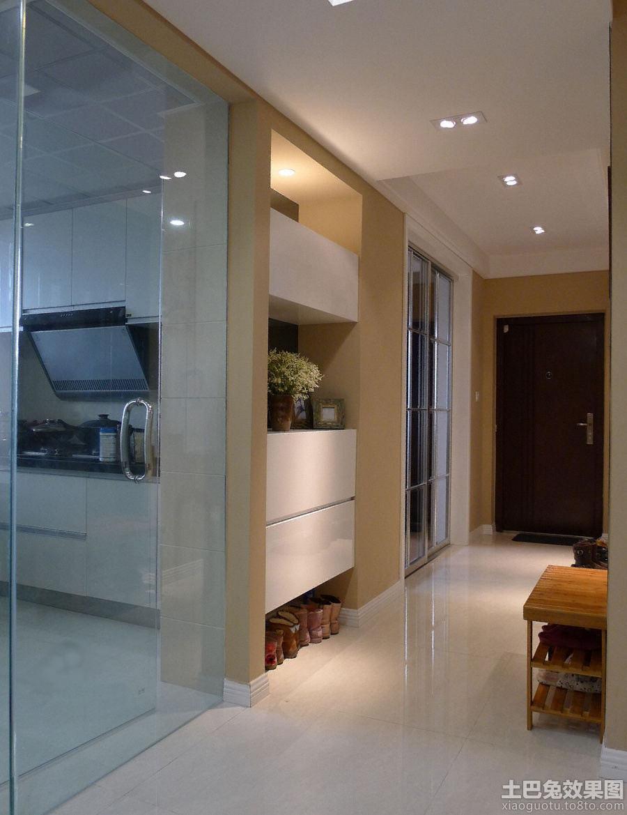 小户型客厅厨房玄关装修效果图
