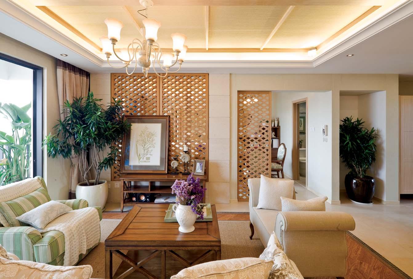 时尚简欧风格客厅装修效果图欣赏装修效果图