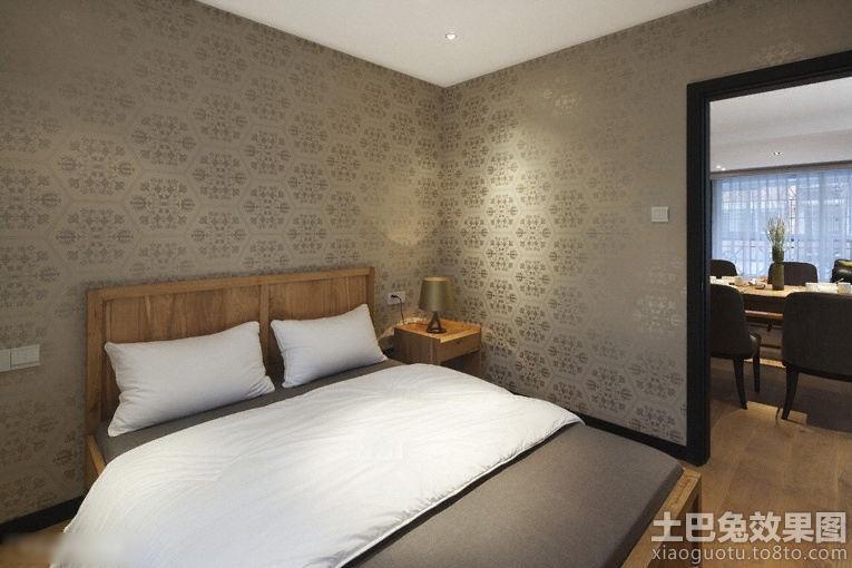 卧室液体壁纸墙面设计装修效果图