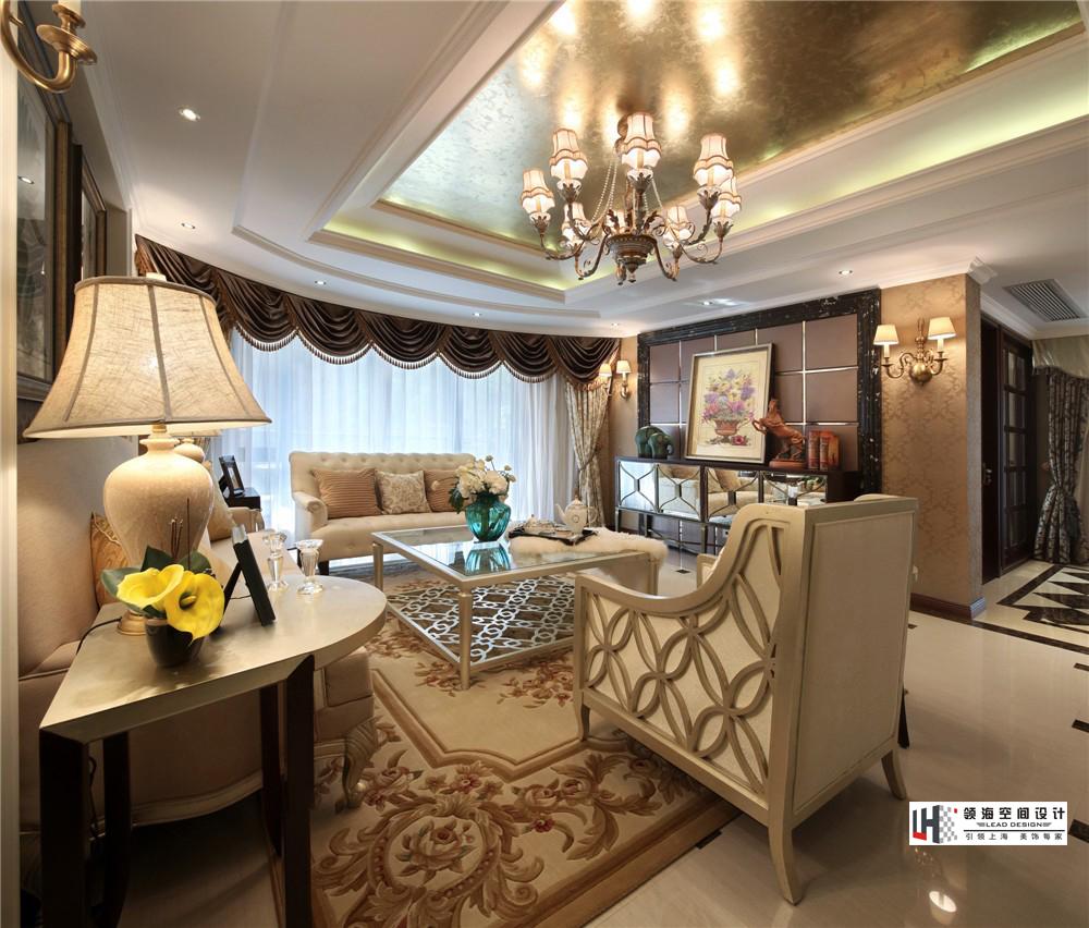 现代欧式两居室客厅装修效果图装修效果图