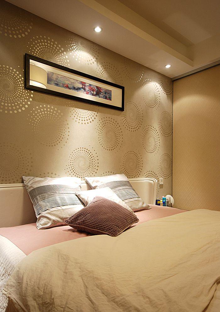 卧室墙面壁纸装修效果图装修效果图