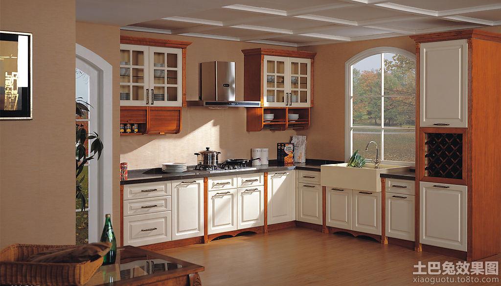 最新美式厨房橱柜装修效果图片装修效果图