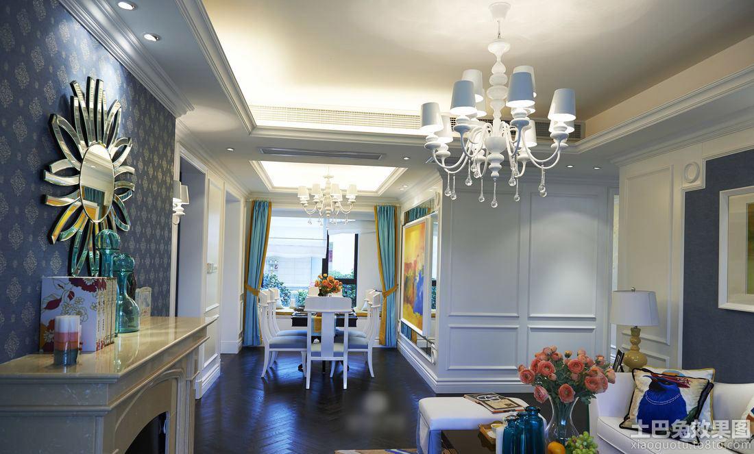 地中海风格室内墙面设计装修效果图